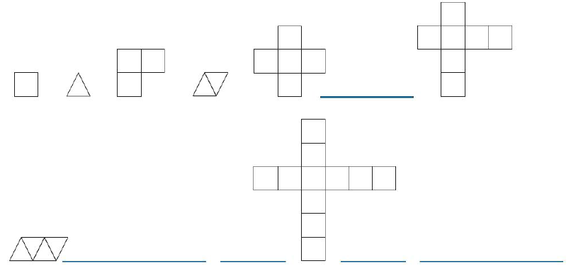 Sucesión de figuras geométricas – Desafíos matemáticos