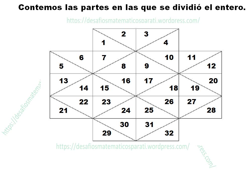 Desafío 29 Cuarto grado Partes de un todo. – Desafíos matemáticos