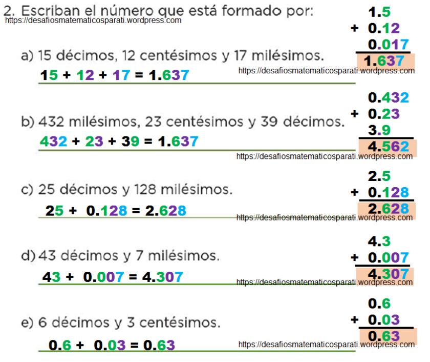 Desafío 73 Cuarto grado – Desafíos matemáticos